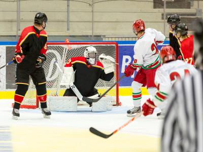 Eishockey Teamtraining