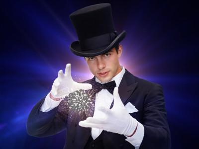 Zauber-Dinnershow